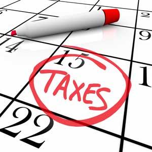 Calendar-mark-says-taxes