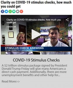 covid-19 stimulus checks