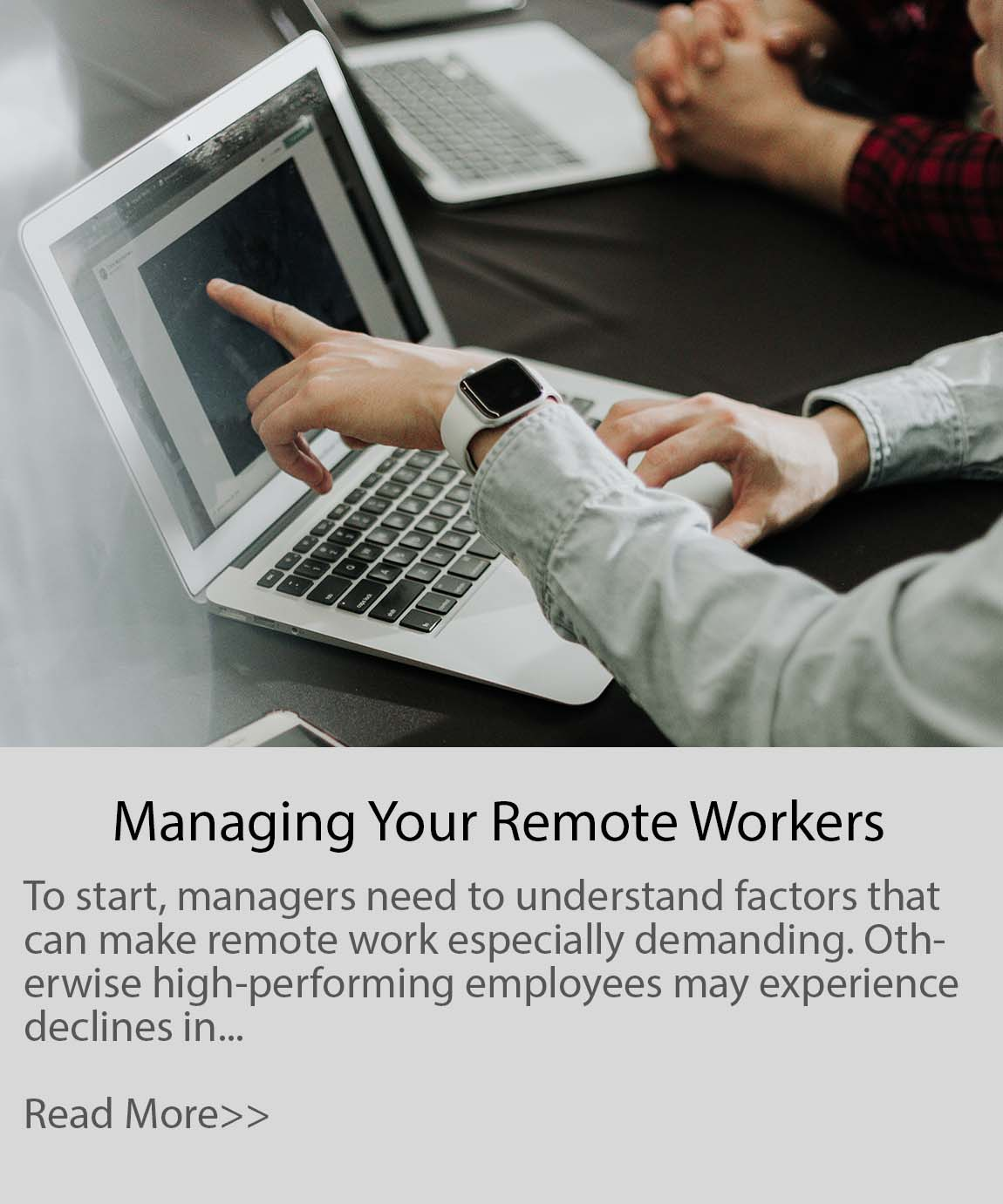 Managing Your Remote Workers