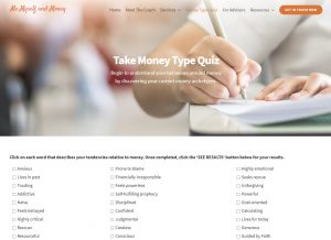 money type quiz on memyselfandmoney.com