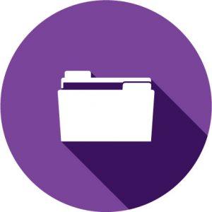 rebel financial icon for folder