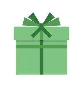 gift wrapped icon