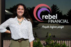 anna johnston of rebel financial