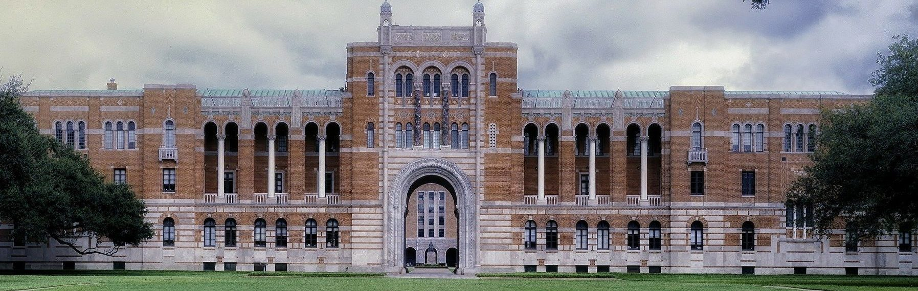 large university building