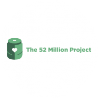 Charity 52 Million Project Logo
