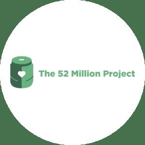 Charity 52 Million Project Logo