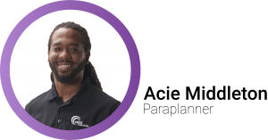 Acie Middleton Bio Page Mobile