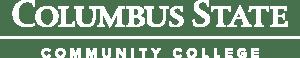 Columbus State Community College White Logo