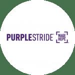 Charity Purple Stride Logo