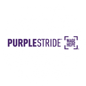 Charity Purple Stride Logo