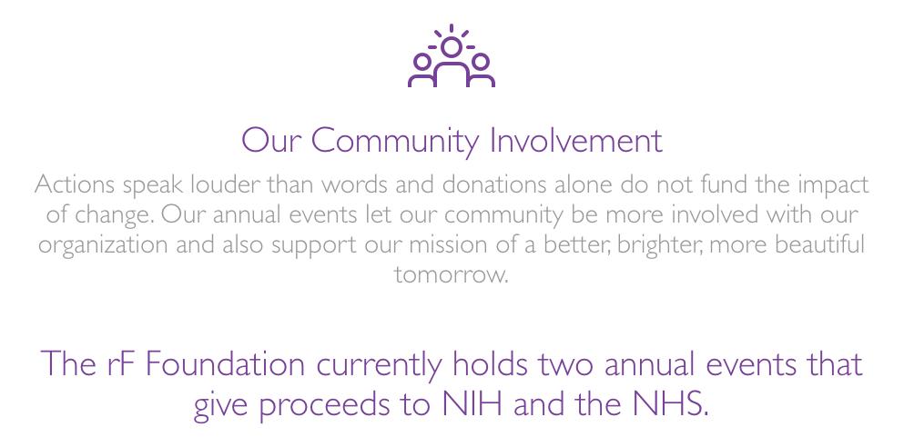 Charity RF Community Involvement