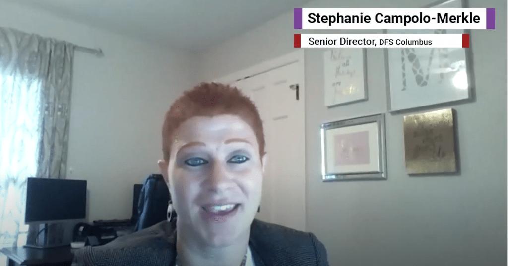 Stephanie Campolo-Merkle of Dress for Success Columbus