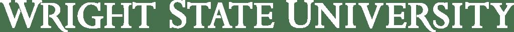 Wright State University White Logo