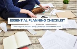 Everplans Essential Planning Checklist