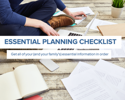 Everplans Essential Planning Checklist
