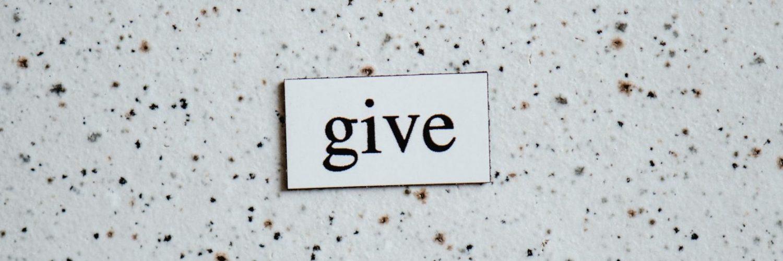 Give back Philanthropy