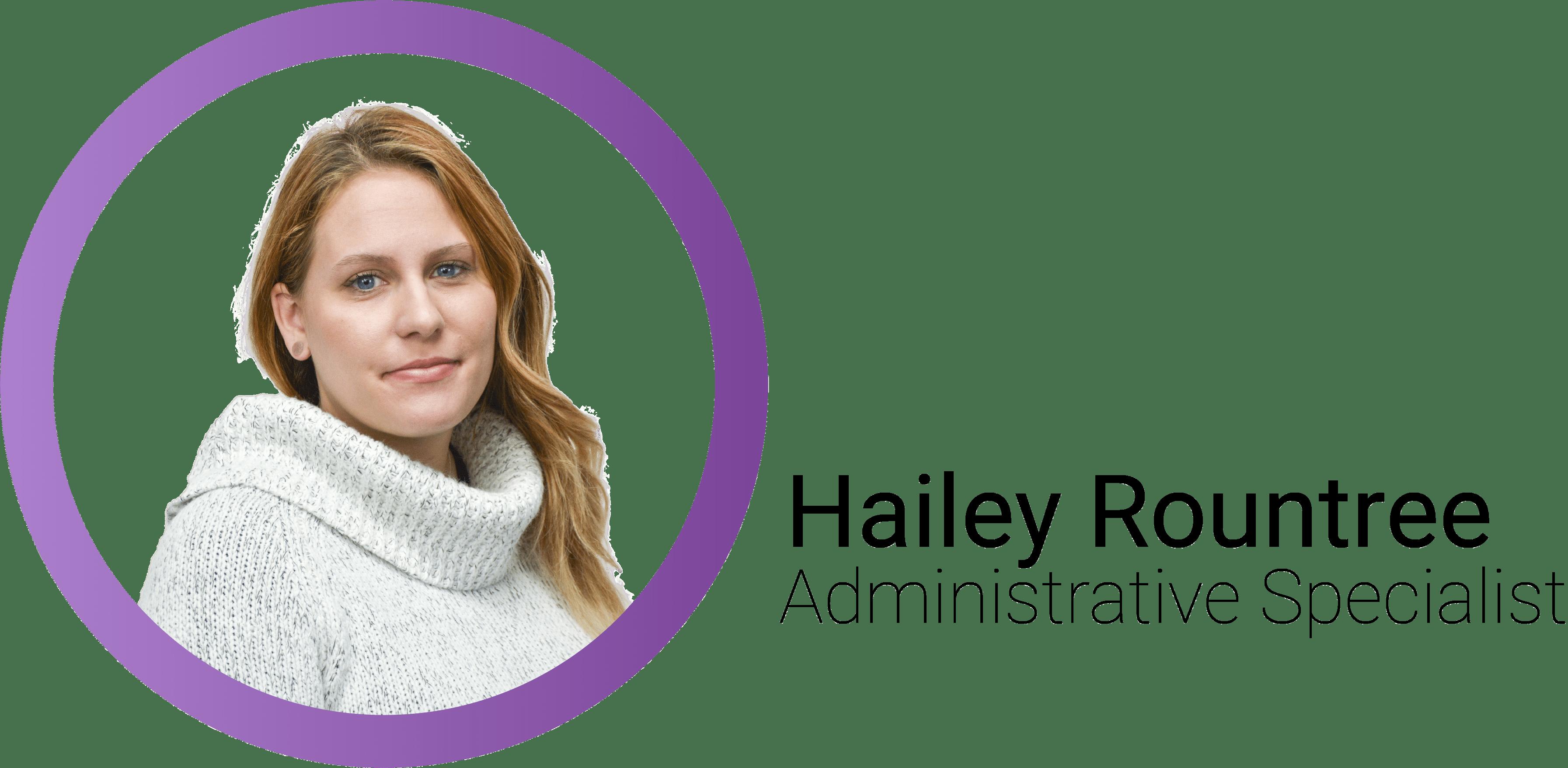 Hailey Rountree Mobile Header