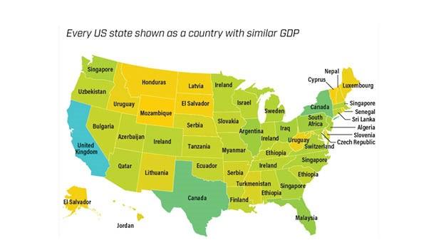 U.S State GDP