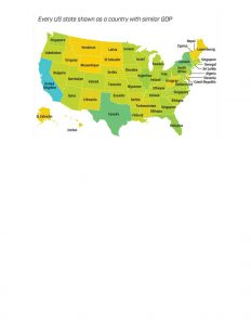 State GDP Map