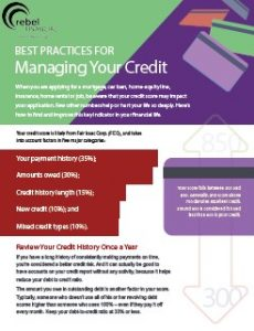 best practices for managing your credit preview