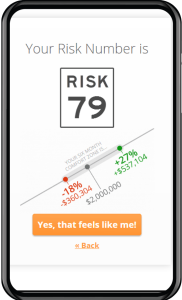 riskalyze mobile display
