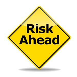 A-sign-says-Risk-ahead